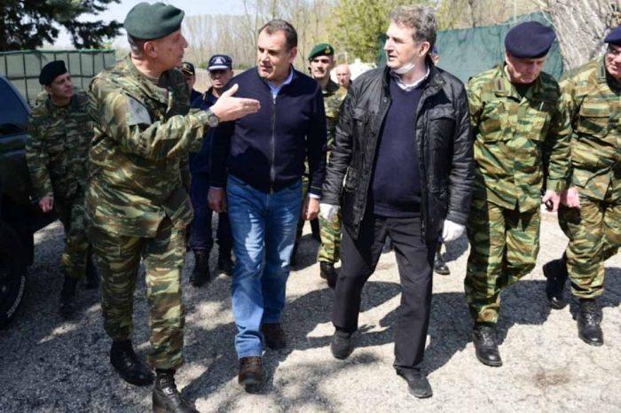 Στον Έβρο, οι υπουργοί Νίκος Παναγιωτόπουλος και Μιχάλης  Χρυσοχοΐδης