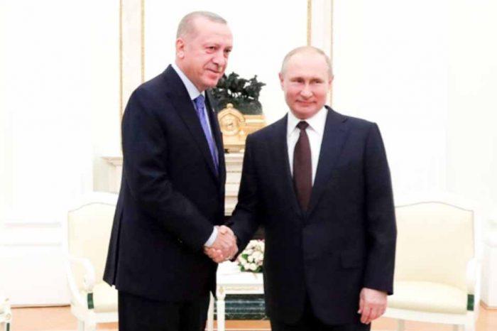Ολοκληρώθηκαν στην Μόσχα οι πολύωρες διαβουλεύσεις μεταξύ του Ρώσου και Τούρκου προέδρου