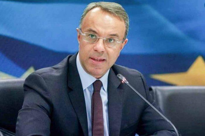Χρήστος Σταϊκούρας:Η  ύφεση θα είναι παροδική, διότι δεν βασίζεται σε εγγενή προβλήματα της οικονομίας
