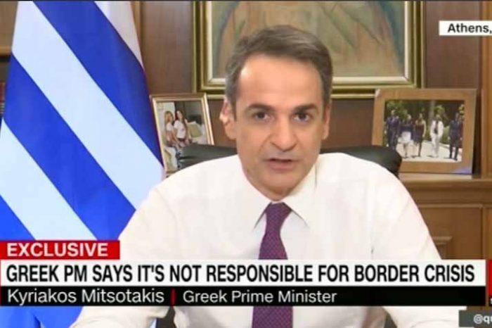 Στο CNN o Πρωθυπουργός: Η Ελλάδα έχει το δικαίωμα να προστατεύει τα σύνορά της, το έχουμε καταφέρει και θα συνεχίσουμε να το κάνουμε