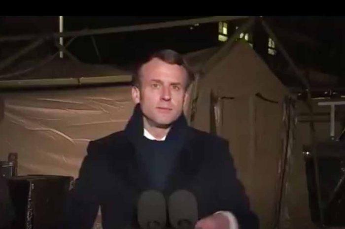 Ε.Μακρόν: Θα κινητοποιηθούν οι ένοπλες δυνάμεις για να βοηθήσουν τον πληθυσμό