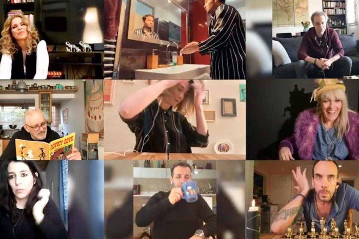 «Θα κάτσω σπίτι 2020» με τη φωνή Κηλαηδόνη και τη συμμετοχή καλλιτεχνών