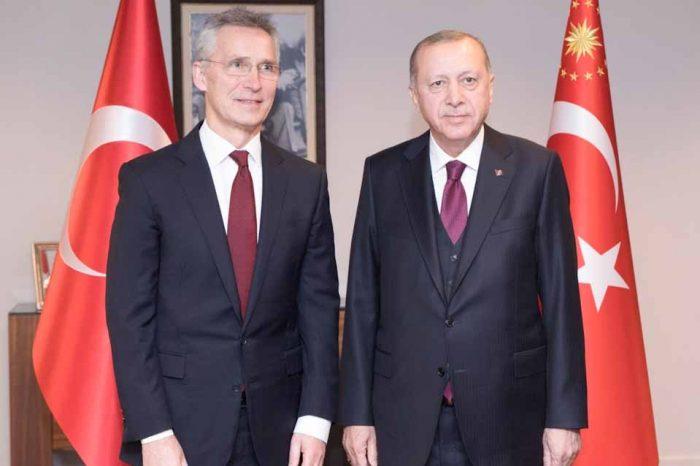 Ο  Ερντογάν ζήτησε από το ΝΑΤΟ «απτή στήριξη» στον πόλεμο στη Συρία