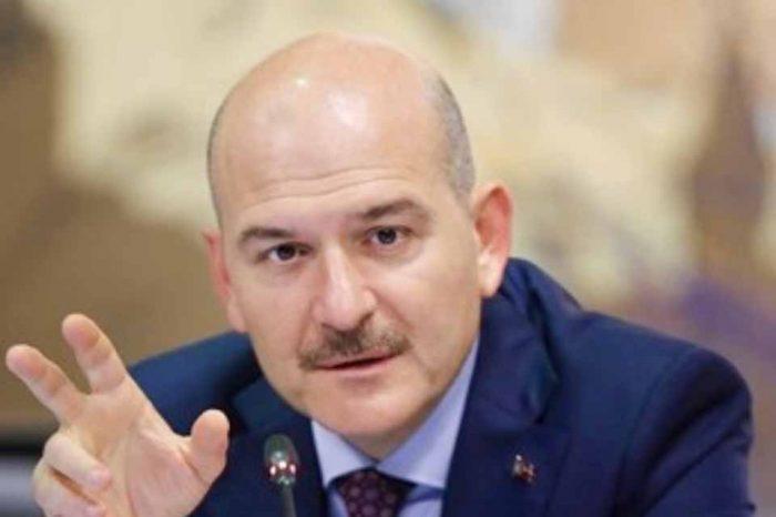 Την παραίτησή του ανακοίνωσε ο Τούρκος υπουργός Εσωτερικών