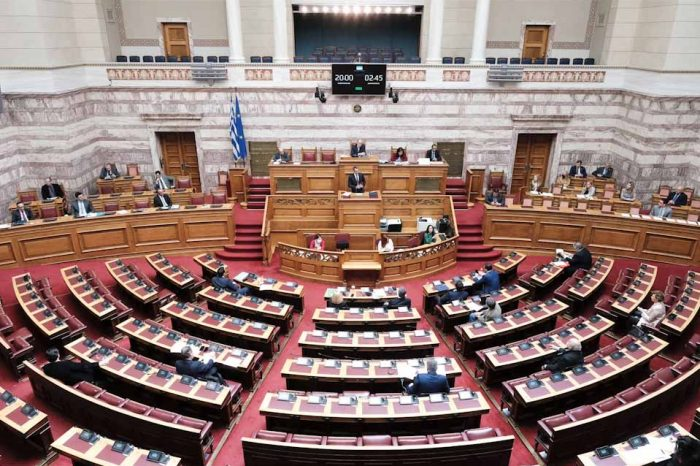 Σειρά τροποποιήσεων του Κανονισμού της Βουλής