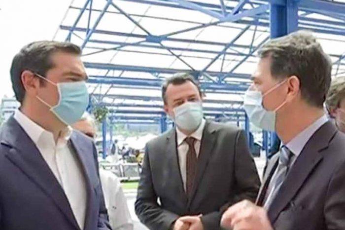 Το Αττικό νοσοκομείο, επισκέφθηκε ο Αλέξης Τσίπρας