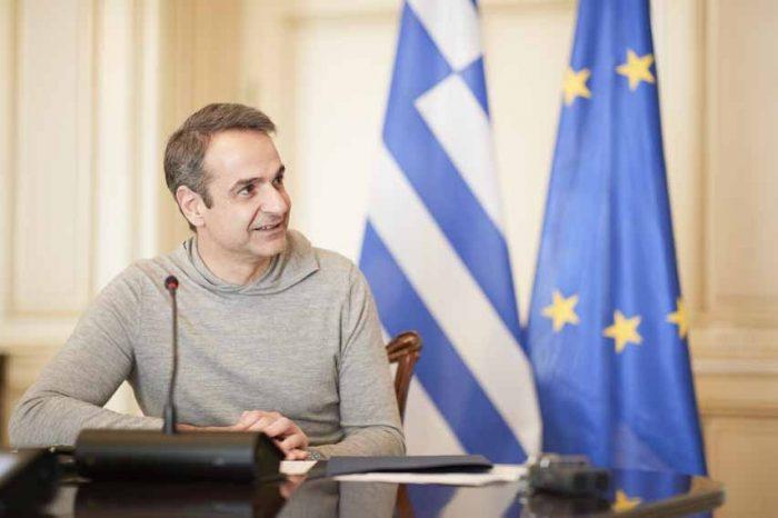 Ο πρωθυπουργός Κυριάκος Μητσοτάκης, συνεχάρη τα στελέχη της Υπηρεσίας Πολιτικής Προστασίας