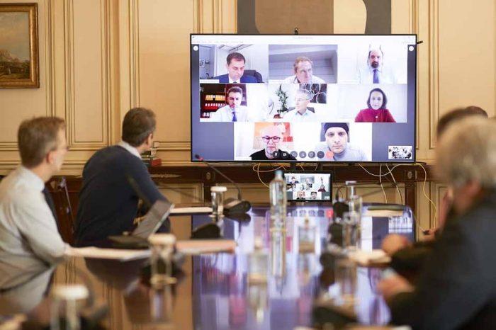 Τηλεδιάσκεψη του Πρωθυπουργού, για την επανεκκίνηση του Τουρισμού μετά τον COVID19