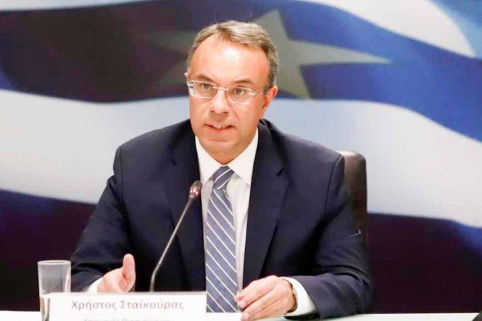 Απάντηση έδωσε ο υπουργός Οικονομικών Χρήστος Σταϊκούρας στον Ευκλείδη Τσακαλώτο