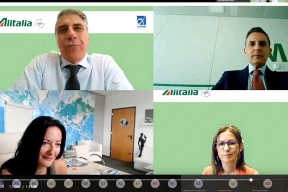 """Η Alitalia διοργάνωσε το πρώτο Webinar """"Ready to RESTART!"""""""