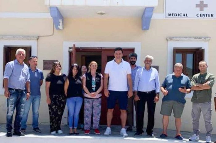 Το Καστελλόριζο επισκέφθηκε σήμερα ο υπουργός Υγείας