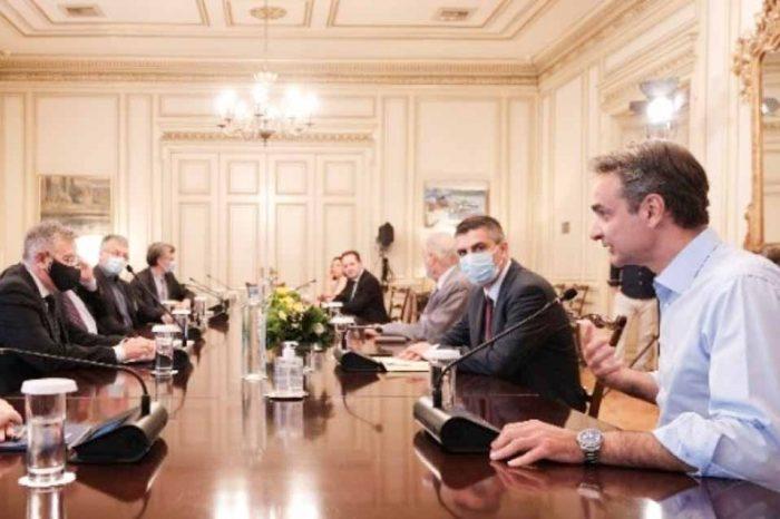 Σύσκεψη υπό τον Πρωθυπουργό, με στελέχη της ερευνητικής κοινότητας για τον COVID19