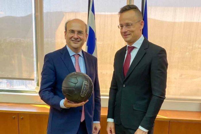 Συνάντηση του Κ. Χατζηδάκη με τον υπ.Εξωτερικών και Εξωτ. Εμπορίου της Ουγγαρίας