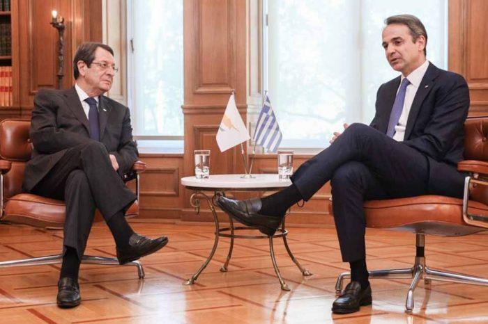 Ο Πρωθυπουργός, είχε σήμερα τηλεφωνική επικοινωνία με τον Πρόεδρο της Κυπριακής Δημοκρατίας