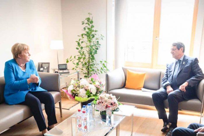 Η Α. Μέρκελ, είχε συνάντηση με τονΝίκο Αναστασιάδη