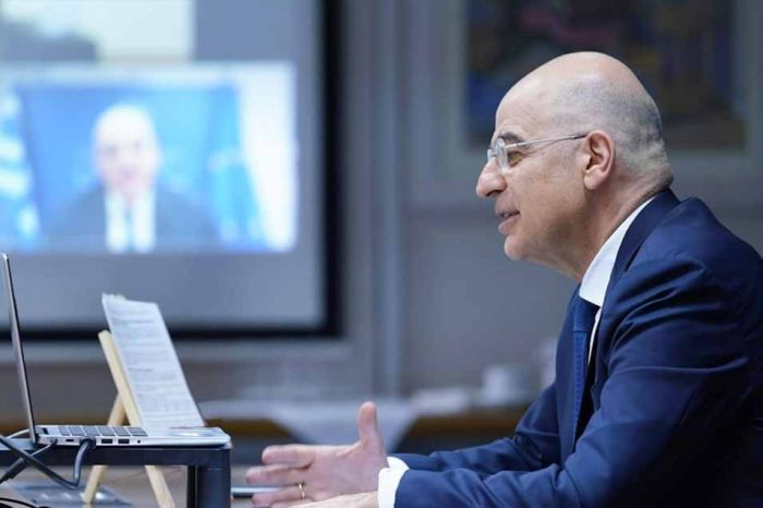 Νίκος Δένδιας: Διάλογο με την Τουρκία, αλλά όχι υπό καθεστώς εκβιασμών και προκλήσεων