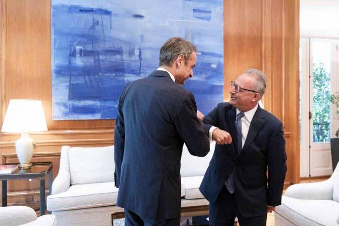 Συνάντηση του Πρωθυπουργού, με τον Πρόεδρο του Δημοκρατικού Συναγερμού