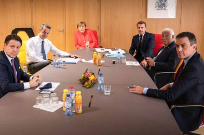 Νέα συνάντηση είχε ο  πρωθυπουργός, με Α.Μερκελ και τον Ε.Μακρόν