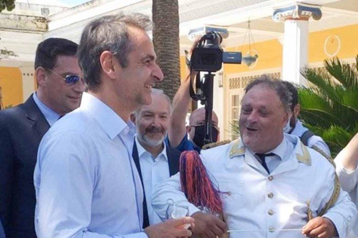 Στην Κέρκυρα βρίσκεται ο πρωθυπουργός Κυριάκος Μητσοτάκης