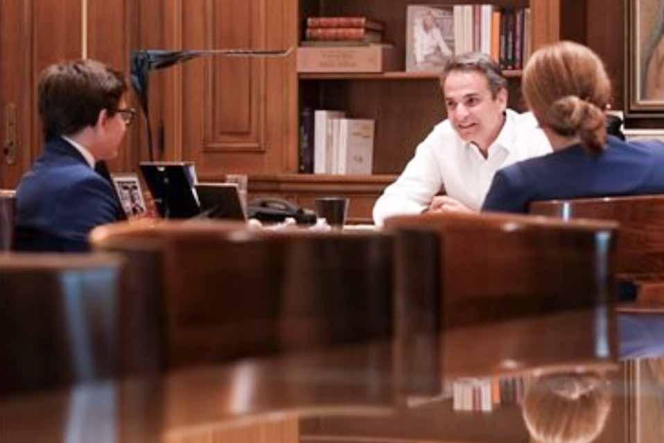 Συνάντηση του πρωθυπουργού, με τον  Δημοσθένη Δεσποτίδη