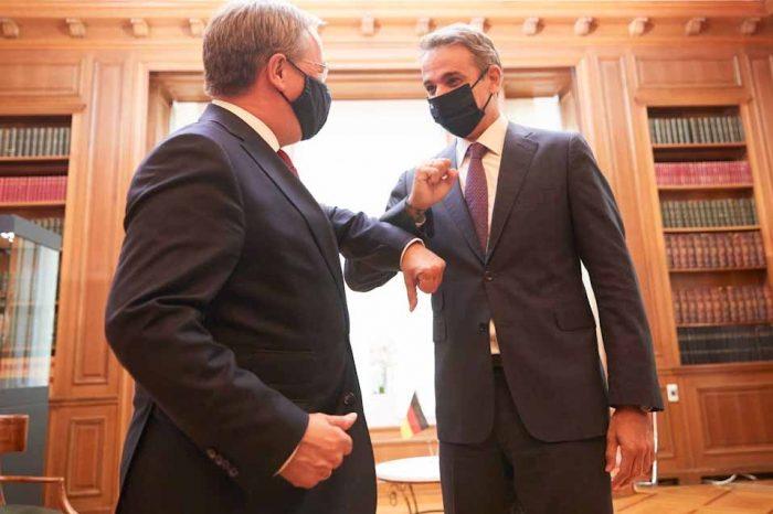 Συνάντηση του Πρωθυπουργού, με τον Πρωθυπουργό της Βόρειας Ρηνανίας - Βεστφαλίας