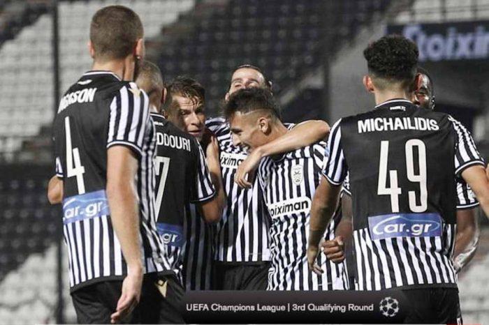 Ο ΠΑΟΚ πέρασε στα play-off του Champions League