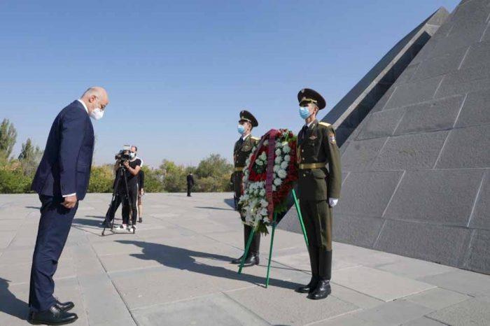 Ο Νίκος Δένδιας συναντήθηκε με τον πρόεδρο και με τον πρωθυπουργό της Αρμενίας