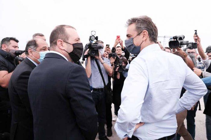 Επίσκεψη του Πρωθυπουργού Κυριάκου Μητσοτάκη στο λιμάνι της Αλεξανδρούπολης