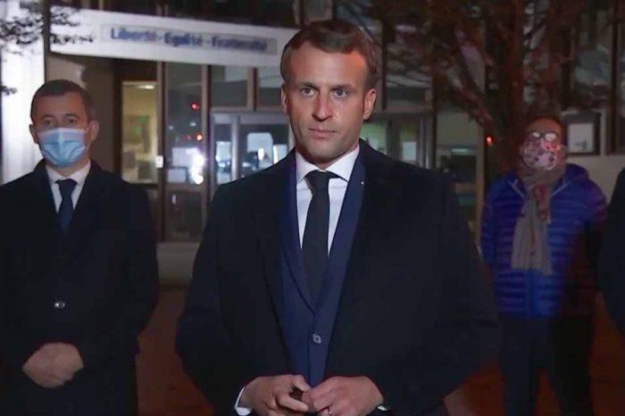 Ε.Μακρόν: Οι τρομοκράτες δεν θα διχάσουν τη Γαλλία, ο σκοταδισμός δεν θα νικήσει