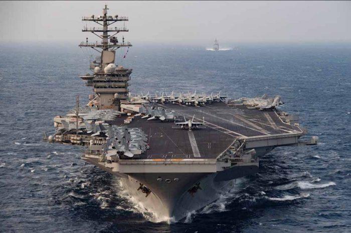 Η ανάπτυξη του αεροπλανοφόρου USS Nimitz στον Κόλπο δεν συνδέεται με την δολοφονία του ιρανού πυρηνικού