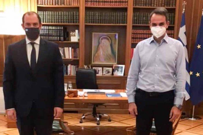 Τα θέματα της Δυτικής Αττικής, στο  επίκεντρο της συνάντησης του Πρωθυπουργού με τον Γ.Κώτσηρα