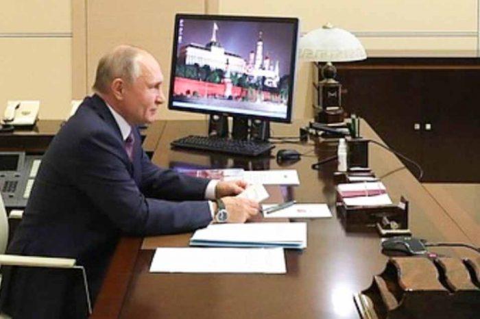 Συνομιλία του Βλαντίμιρ Πούτιν με τον Ρετζέπ Ταγίπ Ερντογά