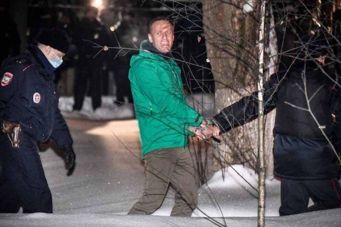 Η Ομάδα των G7 καταδικάζει τη φυλάκιση για «πολιτικούς» λόγους του Αλεξέι Ναβάλνι