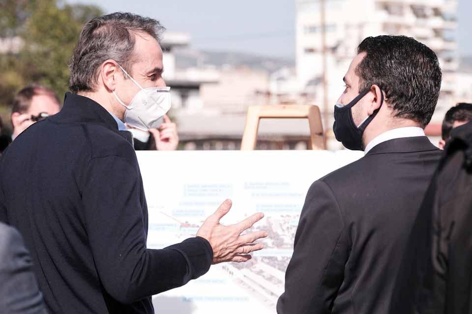 Πρωθυπουργός: Σημαντική αστική ανάπλαση για ολόκληρη την περιοχή της Δυτικής Αθήνας